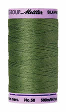 Mettler Cotton Sewing Thread - 50wt - 547 yd/ 500M - 0840 Cactus Green
