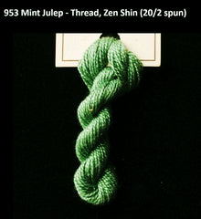 TREENWAY SILKS - Zen Shin (20/2) Silk Thread - # 0953 Mint Julep