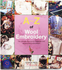 Book -  A - Z of Wool Embroidery