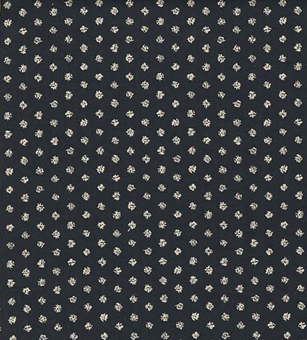 *Japanese -  Cosmo Classic Japanese - Dots - AP-5809-1A - Dark Indigo (Almost Black)