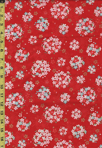Japanese - Cosmo Cherry Blossom Bouquets - AP02705-1C - Red