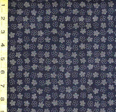 Japanese * Indigo - AP1310-47 - Small Floating Blossoms