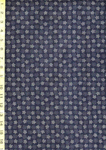 *Japanese * Indigo - AP1310-47 - Small Floating Blossoms