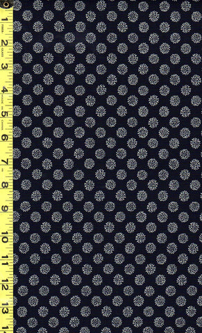 *Japanese Indigo - AP1310-53 - Small Chrysanthemums