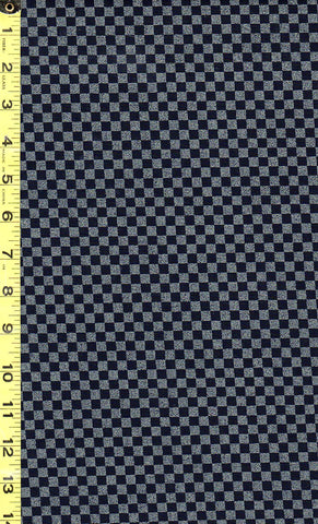*Japanese Indigo - AP1310-55 - Mini Checkerboard