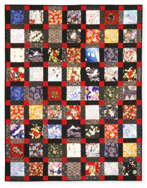 "Charm Squares - Asian Beauty Pattern and 64 - 6"" Squares"