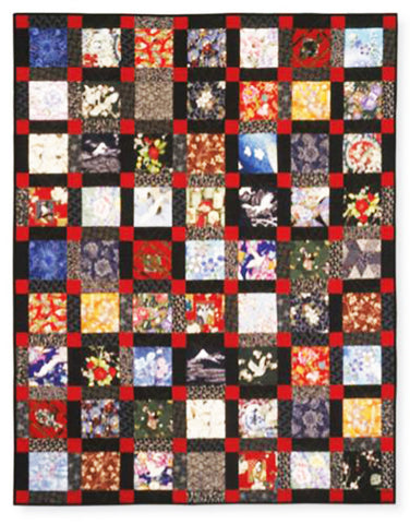 Charm Squares - Asian Beauty Pattern and 64 - 6