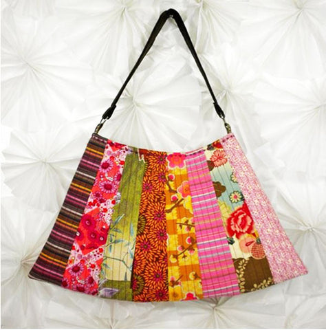 Bag Pattern - Asian Fan Purse