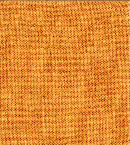 Japanese Fabric - Azumino-Momen - # 125 Orange