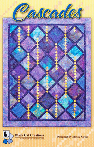 Quilt Pattern - Black Cat Creations - Cascades