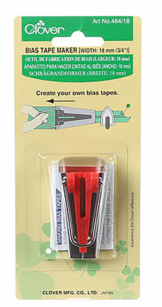 "Notions -  Bias Tape Maker - 3/4"" (18mm)"