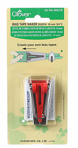 Notions -  Bias Tape Maker - 3/4