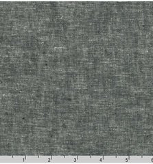 Solid - Essex Cotton-Linen Yarn-Dyed - Black # 1019
