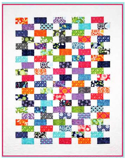 Quilt Pattern - Brookshire Design Studio - Baby Bricks