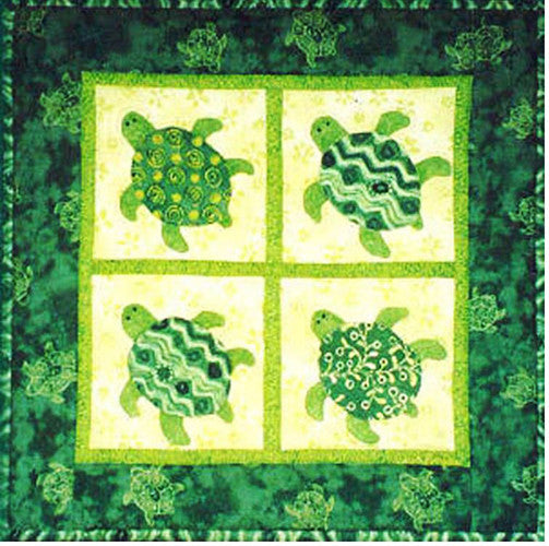 Quilt Pattern Lisa Boyer Baby Honu Shibori Dragon