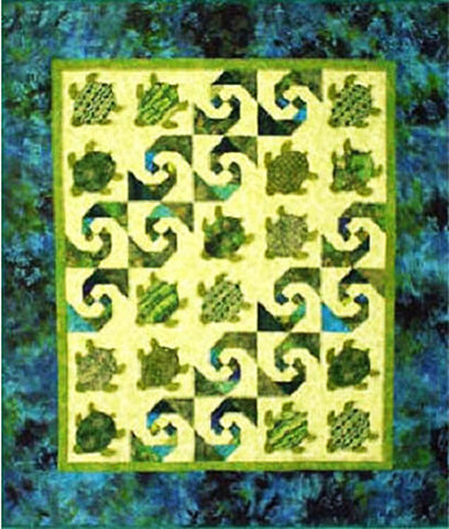 Quilt Pattern - Lisa Boyer - Baby Honu