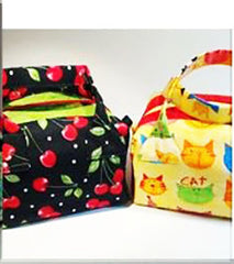 Bag Pattern - Creative Threadplay - Little Square Bag with Handles