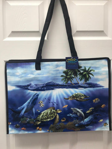 Kona Bay Bag - Holo Holo Large Bag - Under the Sea