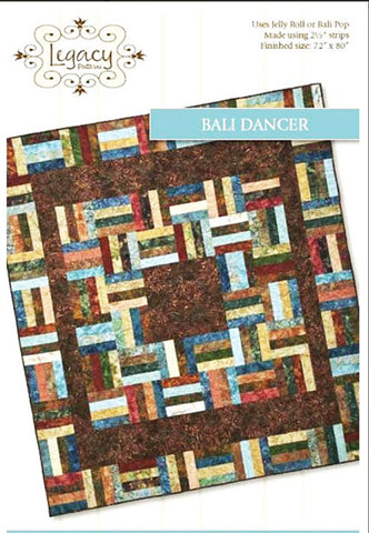 Quilt Pattern - Legacy Patterns - Bali Dancer - ON SALE