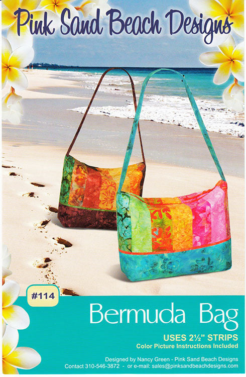 Bag Pattern - Pink Sand Beach Designs - Bermuda Bag