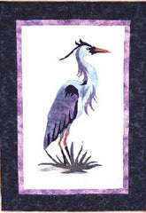 Quilt Pattern - Cotton Tales - Blue (Heron)