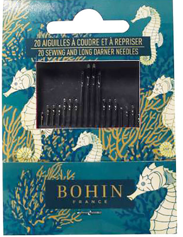 Notions - Bohin Hand-Sewing Needle Assortment - 20 Needle Package