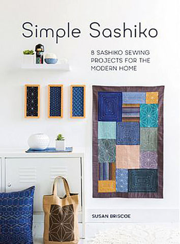Book - SIMPLE SASHIKO - Susan Briscoe