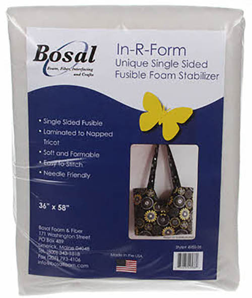 Interfacings & Stabilizers - Bosal In-R-Foam Single Sided Fusible Foam Stabilizer - 36""