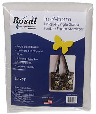 Interfacings & Stabilizers - Bosal In-R-Foam Single Sided Fusible Foam Stabilizer - 36