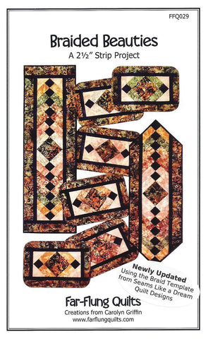 Placemat & Table Runner Pattern - Braided Beauties