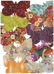 Fabric Fun Shapes - Butterflies-Asian