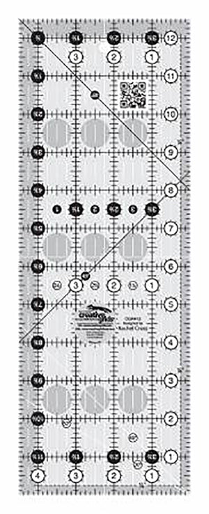 "Rulers & Templates - Creative Grids - CGR412 - 4 1/2"" x 12 1/2"""