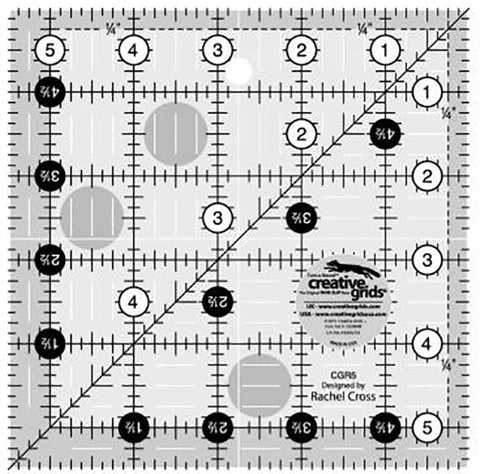 Rulers & Templates - Creative Grids - CGR5 - 5 1/2