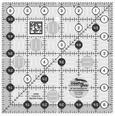 "Rulers & Templates - Creative Grids - CGR6 - 6 1/2"" Square"