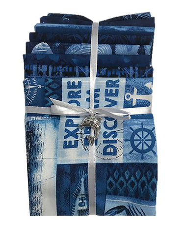 Fat Quarter Color Pack - Nautical - Blue - ON SALE