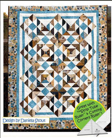 Quilt Pattern - Cozy Quilt Designs - At Sea