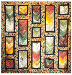 Quilt Pattern - Cozy Quilt Designs - Autumn Braid