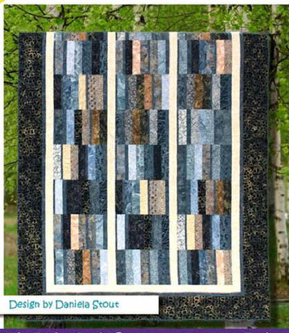 Quilt Pattern - Cozy Quilt Designs - Blurred Lines