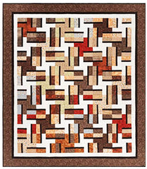 Quilt Pattern - Cozy Quilt Designs - Brownstone