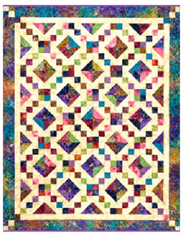 Quilt Pattern - Cozy Quilt Designs - Buckeye Beauty