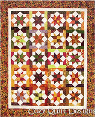 Quilt Pattern - Cozy Quilt Designs - Table Runner & Quilt Pattern - Equinox