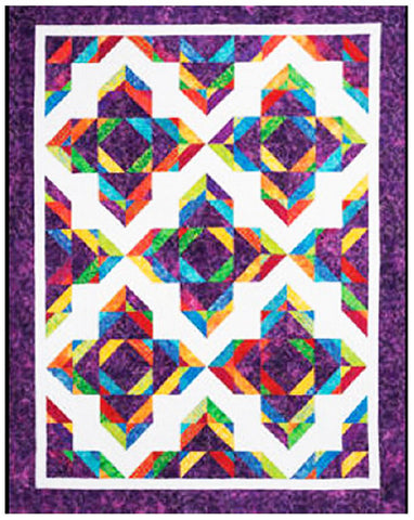 Quilt Pattern - Cozy Quilt Designs - Lotus Blossom