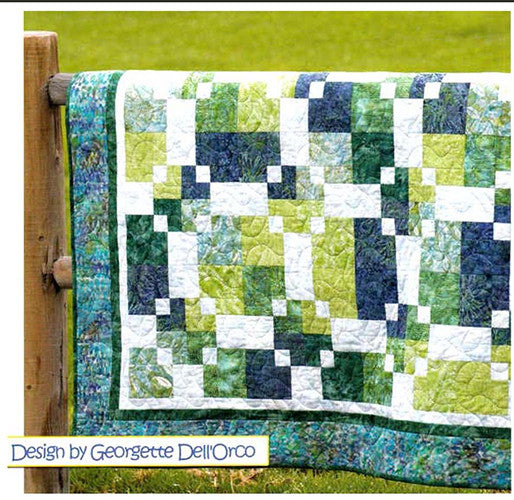 Quilt Pattern - Cozy Quilt Designs - Mirror Mirror