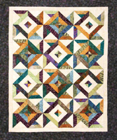 Quilt Pattern Cozy Quilt Designs Spin Cycle Shibori
