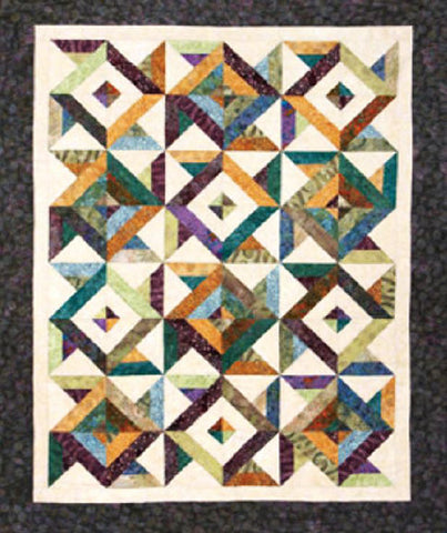 Quilt Pattern - Cozy Quilt Designs - Spin Cycle