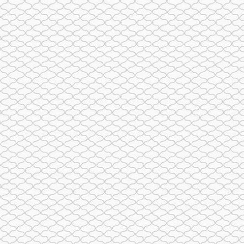 *Tonal Blender - Century Whites - Small Japanese Fish Net - CS-9690-WW - White on White