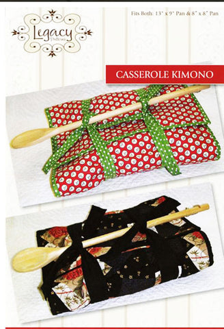 Kitchen Pattern - Legacy Patterns - Casserole Kimono - ON SALE