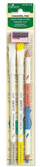 Notions - Clover Chacopel Pencils # 418 - 3 Pack