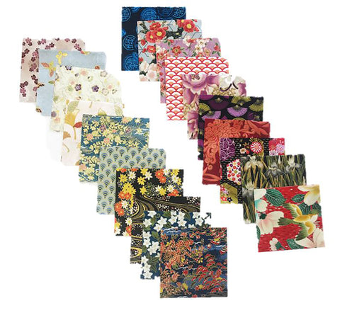 Charm Squares - Asian Variety Pack - 40 - 4