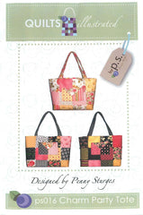 Bag Pattern - Quilts Illustrated - Charm Party Tote
